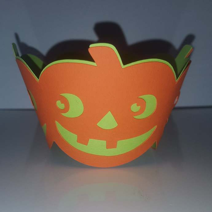 Halloween multi layer cupcake wrappers (set of 12)