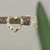 Tiny heart gold stud earrings, hammered hearts, brass post minimalist earrings,
