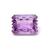 Faceted Amethyst Lazer cut octagon Carved Loose Semi Precious Gemstone