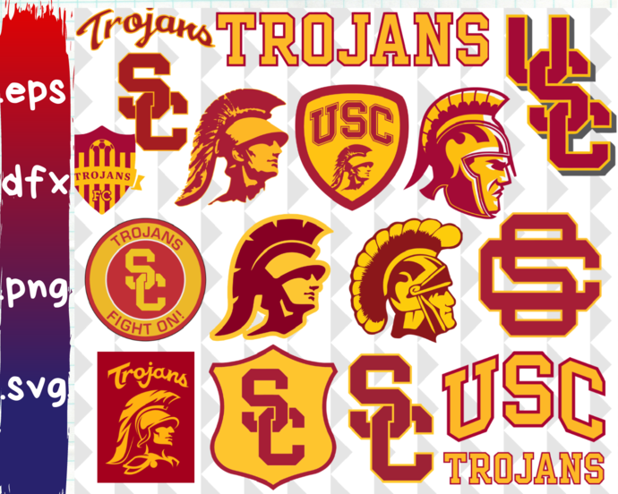 USC Trojans, USC Trojans svg, USC Trojans logo, USC Trojans clipart, USC Trojans