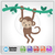 Baby Monkey SVG / Instant Download / Digital Clipart / Cutting Files / Cricut /