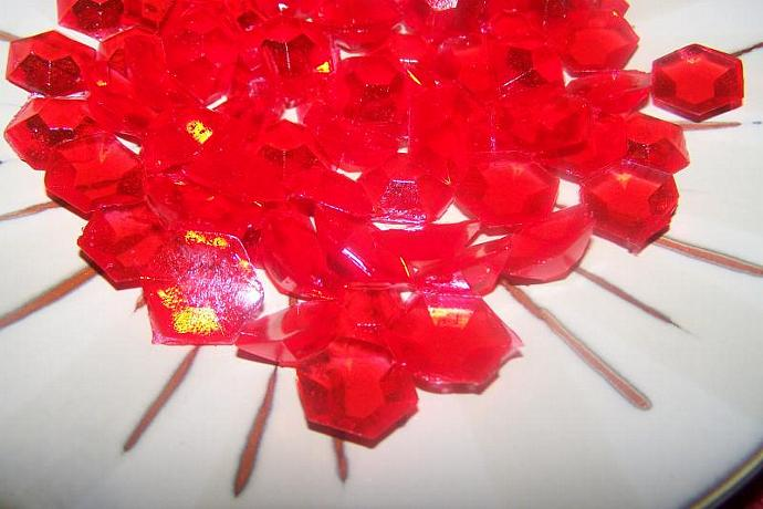 3 oz Bag of Hard Candy Pieces Jewels