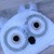 Crochet Snowy Owl Winter Earflap Hat and Diaper Cover - Newborn Photoprop
