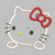 Hello Kitty Embroidery Applique Design