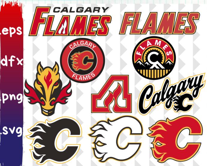 Clipartshop Calgary Flames Calgary By Clipartshopcreations On Zibbet