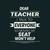 Dear teacher i talk to everyone so moving tmy seat wont help, Teacher funny