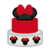 Minnie Mouse Cake Embroidery Applique Designs