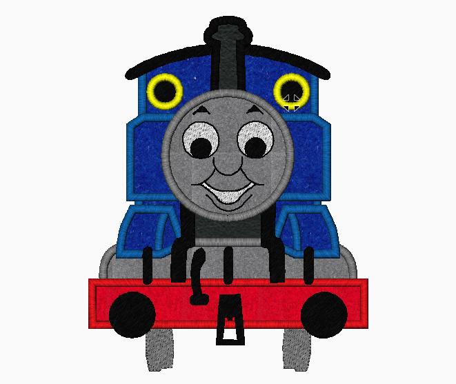 PBS Kids THOMAS The Train Embroidery Applique Designs