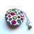 Tape Measure  Rainbow Yarn Balls Retractable Measuring Tape