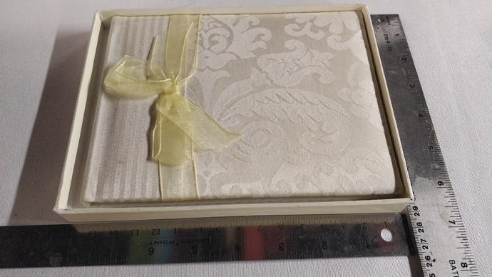Guest Book for Bridal Wedding or Baby Shower or many other occasions