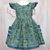 Girl Fall Dress, Green Dress, Open Back Dress, Sundress, Girl Pinafore, Dress
