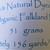 Handspun Yarn Natural / Eco Dyed with Privet – 100% Organic Merino – 51 grams –