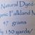 Handspun Yarn Natural / Eco Dyed with Privet – 100% Organic Merino – 47 grams –