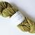 Handspun Yarn Natural / Eco Dyed with Privet – 100% Organic Merino – 53 grams –