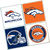 Denver Broncos Coasters - set of 4 tile coasters - NFL, football, foot ball,