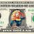 CAPTAIN MARVEL on a REAL Dollar Bill Cash Money Collectible Memorabilia