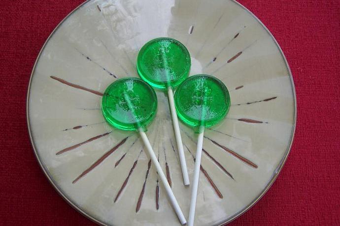 10 Button Sewing Lollipop Sucker