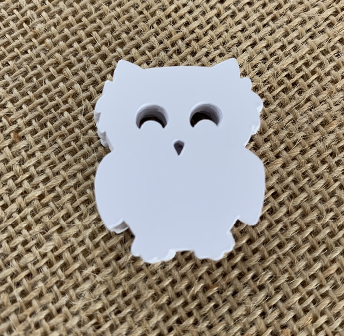 Who Loves You Owl Cut Outs ~ Owl die cuts ~ Owl Baby Shower ~ 30 Large Owl tags