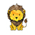 Lion, Tiger, Bear OH MY - Set of 3 Decals - Safari Animals Series - Wall Decal -