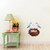 Love Birds Set - Set of 3 Decals - Safari Animals Series - Wall Decal - Great