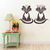 Skunk Pair - Set of 2 Decals - Safari Animals Series - Wall Decal - Great For