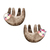 Sloth Pair - Set of 2 Decals - Safari Animals Series - Wall Decal - Great For