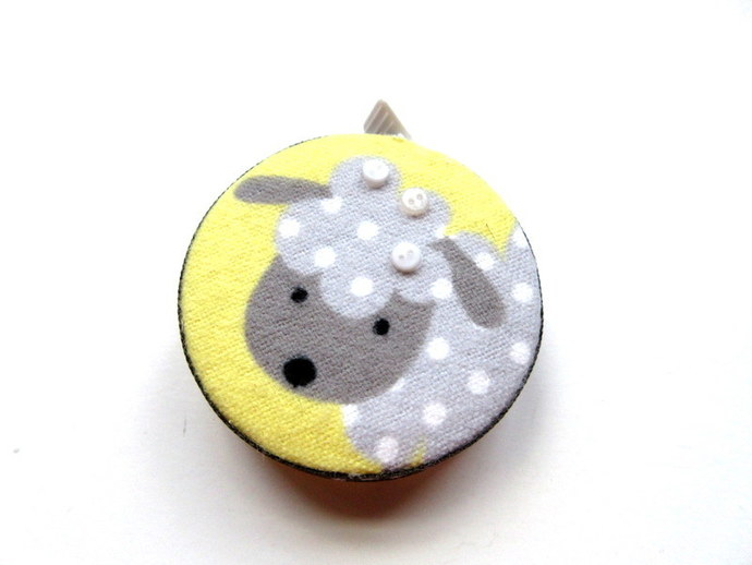 Tape Measure Dotted Sheep Small Retractable Measuring Tape