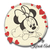 Minnie Mouse Embroidery Machine Designs Circle Love Heart Instant Digital