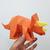 DIY Papercraft Triceratops sculpture,Papercraft dinosaur sculpture,Lowpoly