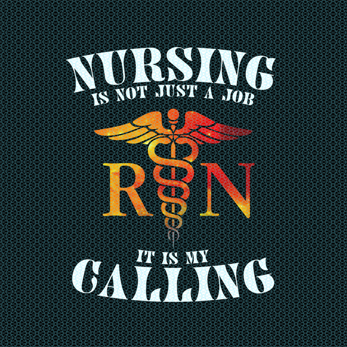 Nursing is not just a job It is my calling RN,  Nurse funny birthday gift, love