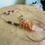 Aura Crystal Hammered Copper Pendant Necklace, Boho Jewelry