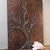 CUSTOM Copper Tree Painting, Original Art, Mixed Media Art, Acrylic 3D Relief