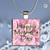 Pendant Necklace Mothers Day