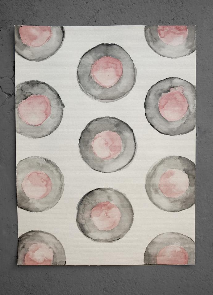 Minimalist abstract original, Abstract Wall Art , Abstract Painting,