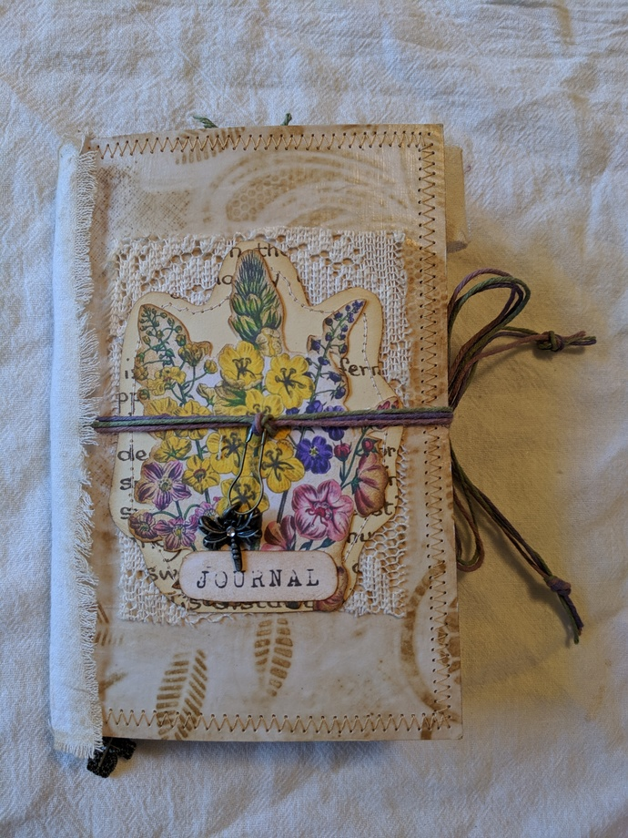 Vintage Botanicals mini journal