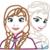 Disney Frozen ELSA ANNA Embroidery Applique Designs