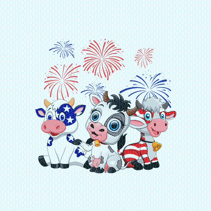 Cows in America flag, Not today Heifer, Heifer birthday gift, Funny Cow design