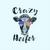 Crazy heifer, Not today Heifer, Heifer birthday gift, Funny Cow design PNG
