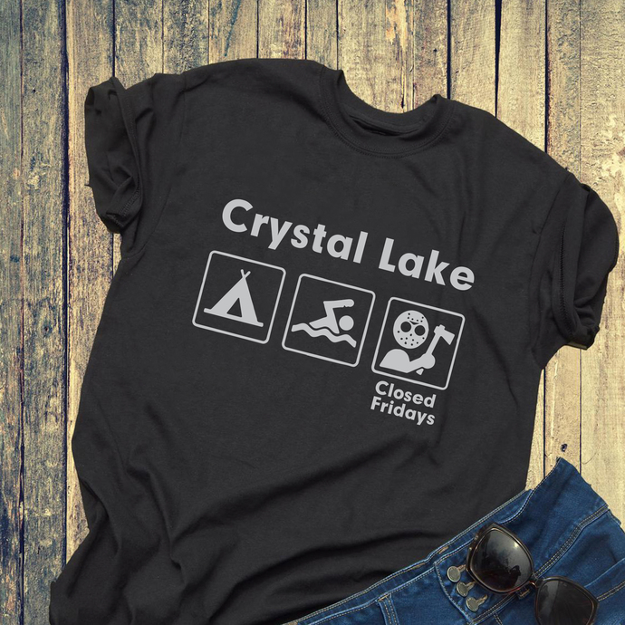 Crystal lake, closed Friday, swim, swimming, gift for friend, friend gift,