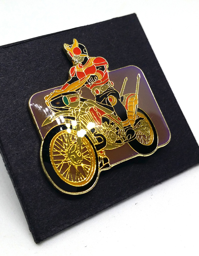 Masked Rider Kuuga Pin Badge (06) - TOEI Japanese Anime Kamen Rider - New Unused