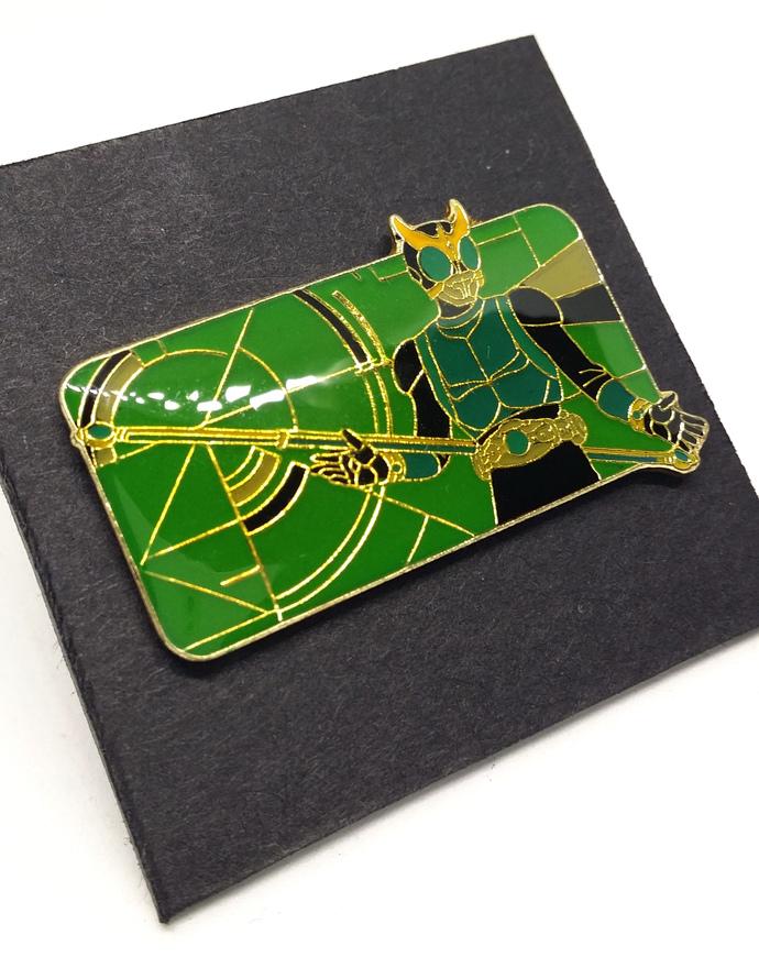 Masked Rider Kuuga Pin Badge (05) - TOEI Japanese Anime Kamen Rider - New Unused