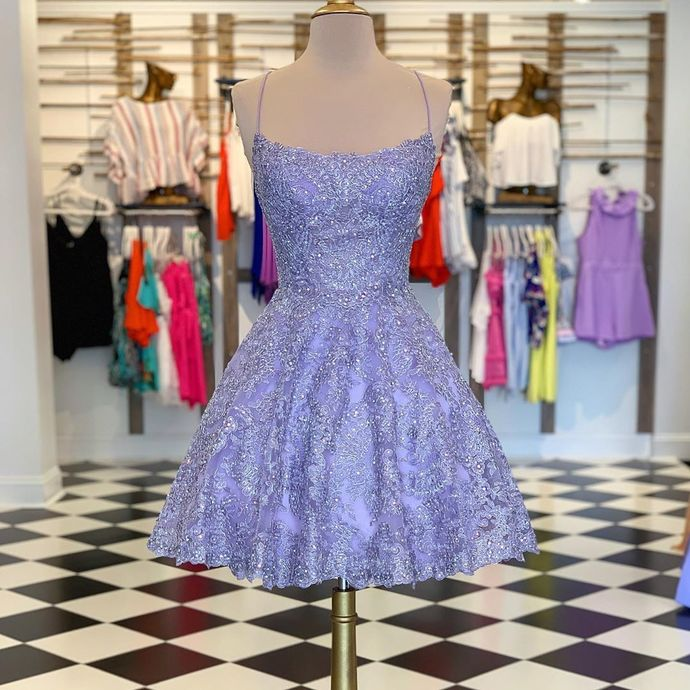 Lace Homecoming dresses short,Short Prom Dresses,Homecoming Dress,Graduation