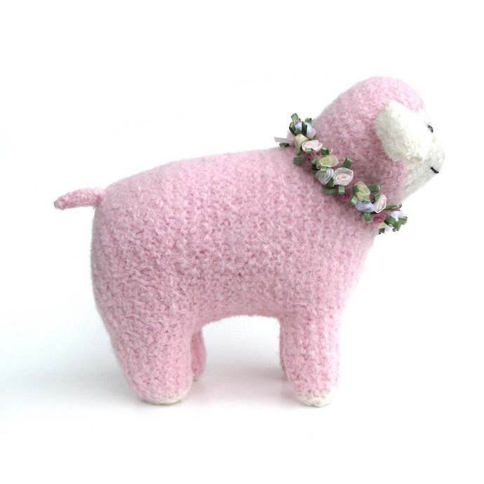 Stuffed Toy Animal, Lamb