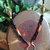 Hammered Copper Fall Harvest Lanyard, Eyeglass Leash, Badge ID Holder, Gift for