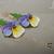"""Long Earrings """"Viola Forest"""""""