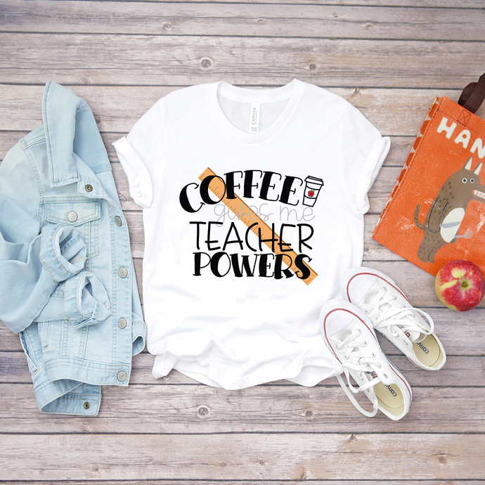 Coffee gives me power teacher, teacher svg, power teacher, coffee, coffee svg,