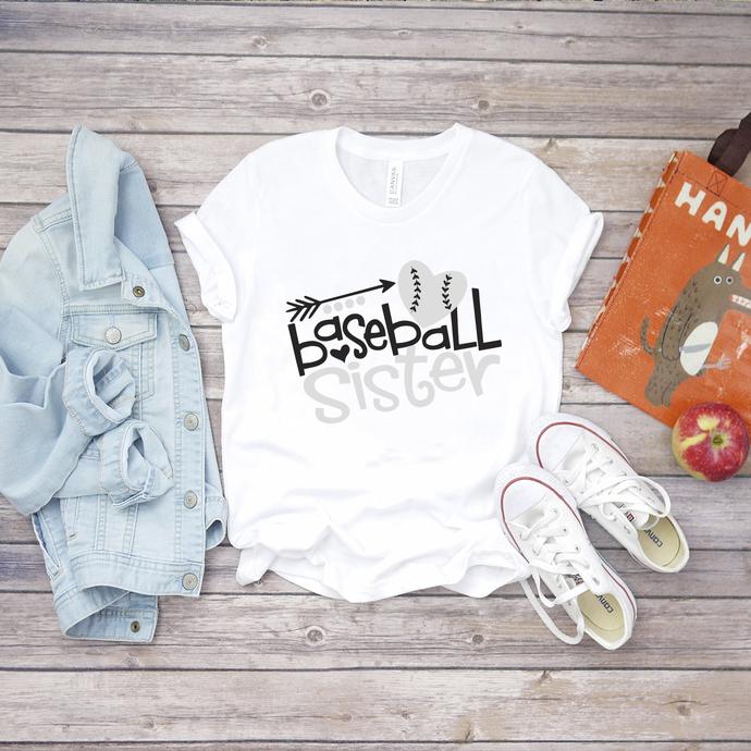 Baseball Sister Svg, Baseball Svg, Big Sister Svg, Sister Svg, Gift For Sister,