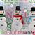 Three Snowmen Greeting Card