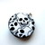 Tape Measure with Black and White Skulls Retractable Measuring Tape