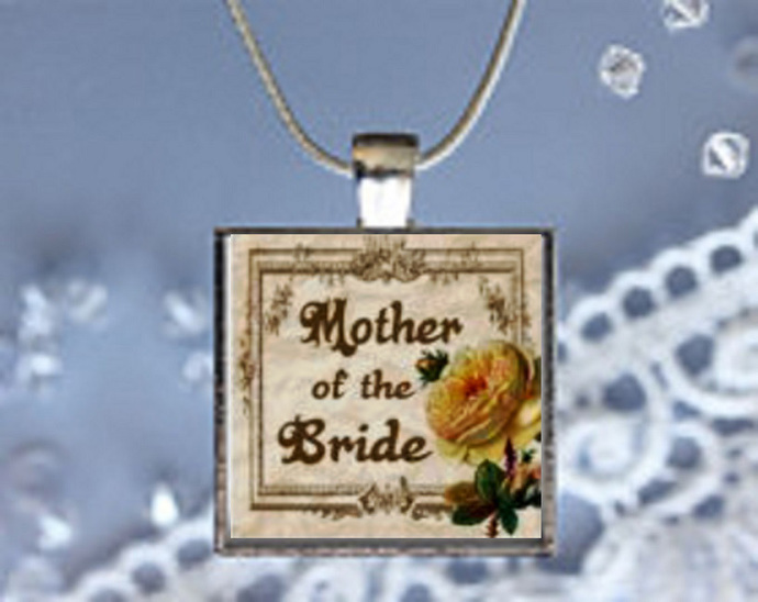 Pendant Necklace Wedding, Mother of the Bride
